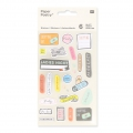 Sortiment mit  200 Büro Stickers Paper Poetry Magical Summ Organisation x1
