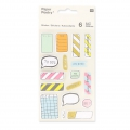 Sortiment mit  200 Büro Stickers Paper Poetry Magical Summer Note x1