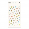 Sortiment mit  50 Relief Stickers Paper Poetry Magical Summer Visage x1
