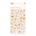 Sortiment mit  50 Relief Stickers Paper Poetry Magical Summer Cool Icône x1