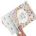Heft mit  20 Seiten voller Stickers Paper Poetry 11x16.5 cm- Magical Summer Rosa x1