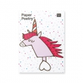 50 Sticky notes Paper Poetry - Magical Summer Einhorn x1