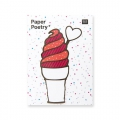 50 Sticky notes Paper Poetry - Magical Summer Eis x1