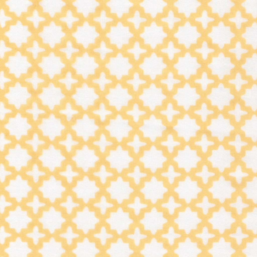 Stoff doppelte Baumwolle Gaze - Little prints - Lemon x10cm - Perles ...