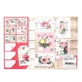 Design Papier Mix and Match für Scrapbooking - My Love x1