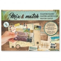 Design Papier Mix and Match für Scrapbooking - Journey x1