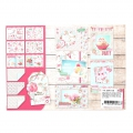 Design Papier Mix and Match für Scrapbooking - Birthday x1