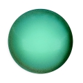 Glascabochon par Puca® 18 mm Green Turquoise Pearl x 1