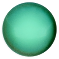 Glascabochon par Puca® 25 mm Green Turquoise Pearl x 1