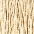 Blissino Spule made in Italien  0,6 mm Beige goldfarben x50m