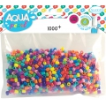Aqua Pearls / AquaBeads - Nachfüllpack Mix bunt x1000