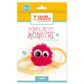 Wolle Set Kinder  - Poppy das kleine Monster