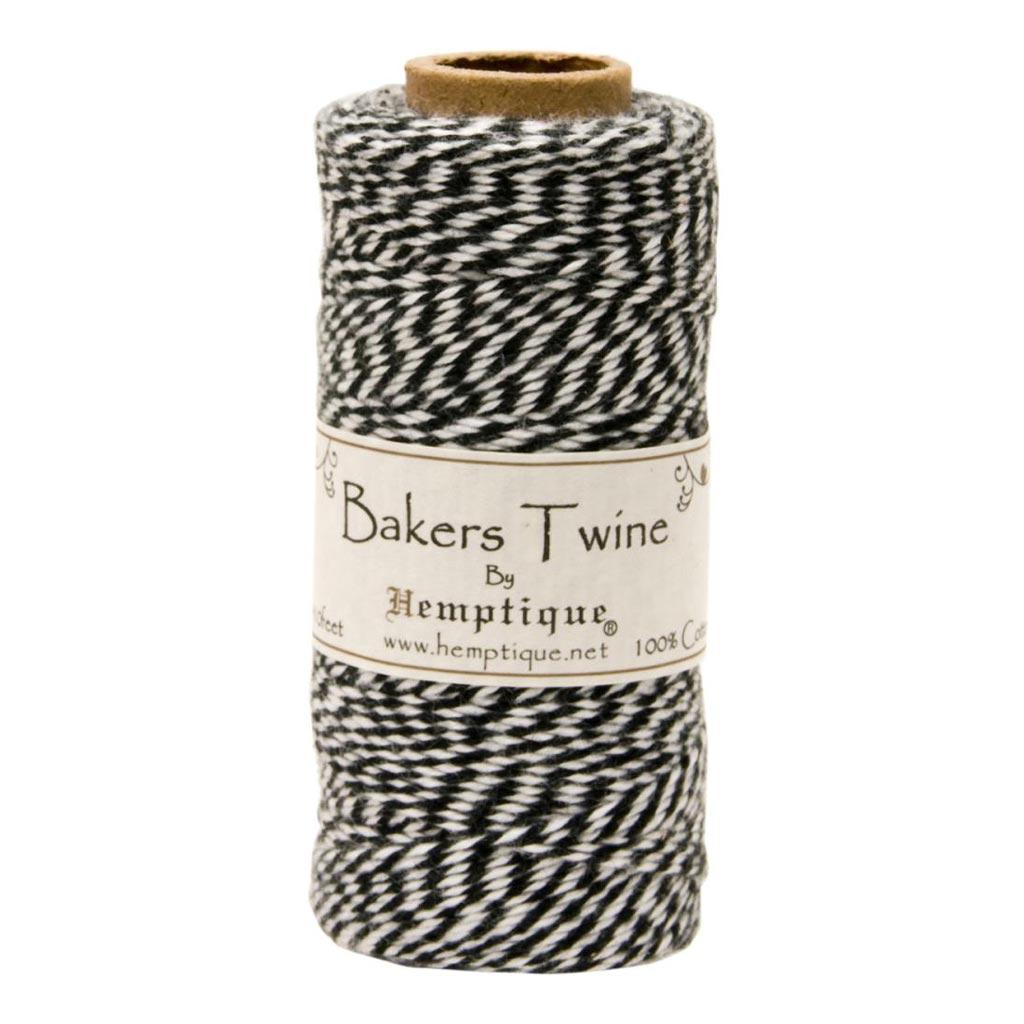 Spule mit 125 schnur bakers twine 1 mm wei schwarz for Spule mit geschirrspuler