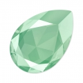 Cabochon Swarovski 4327 Birne 30x20mm Crystal Mint Green