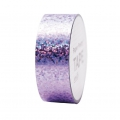 Klebeband - Paper Poetry Tape 20 mm Hologramme Punkten Lilas x10m
