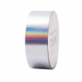 Klebeband - Paper Poetry Tape 20 mm Hologramme Iridescent Silberfarbenx10m