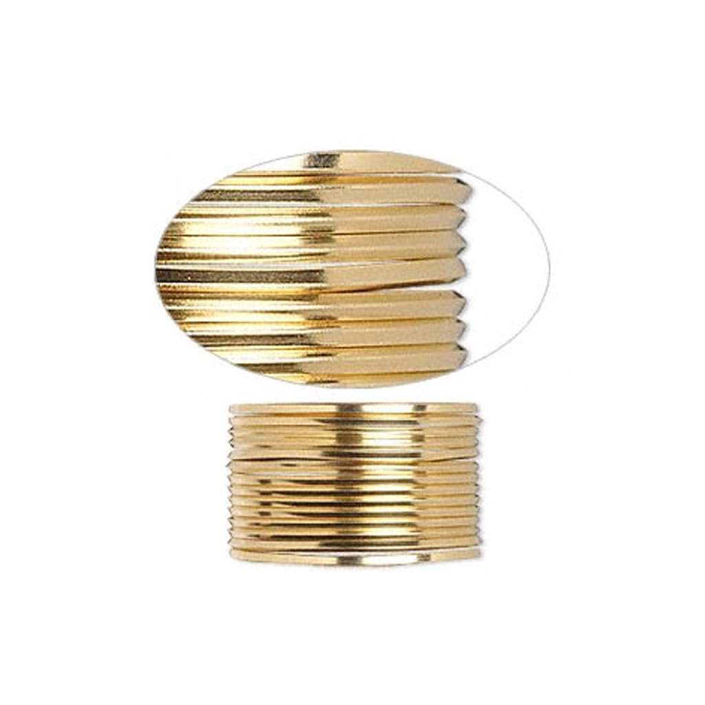 Harter quadratischer Draht 1.15 mm aus Gold Filled 12 Karats x1.5m ...