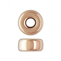 Rondellen 4x2.1 mm Rose Gold filled 14 Karats x2