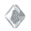 Swarovski Anhänger 6926 Growing Crystal Rhombus 26 mm Crystal