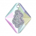 Swarovski Anhänger 6926 Growing Crystal Rhombus 26 mm Crystal AB