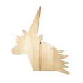 Wall charm - Made by Me - Deko aus Holz 22 x25 cm - Einhorn