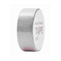 Klebeband - Paper Poetry Tape 15 mm PaillettenSilber   x5m
