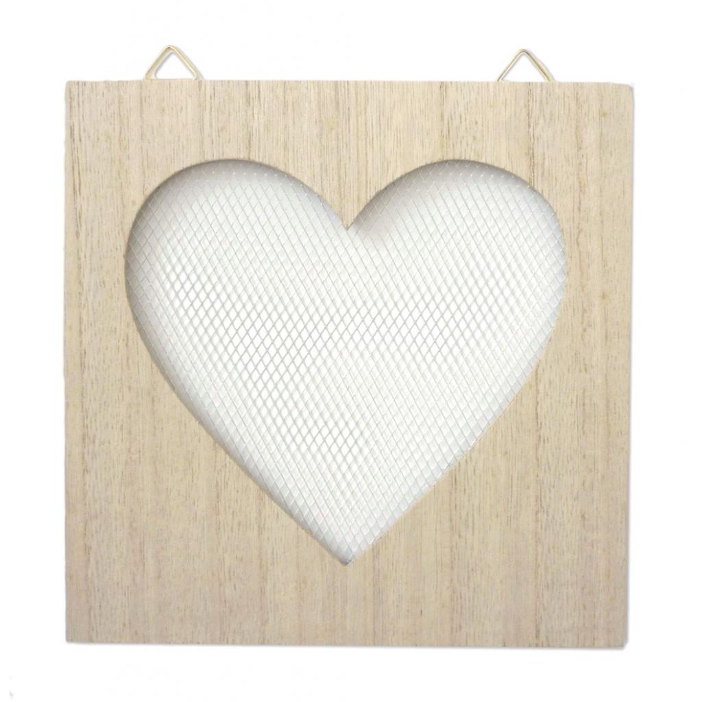 Holzrahmen mit Hühnchen Gitter zu personalisieren - 20 x 20 cm - H ...