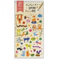 Assortiment de mini Stickers Kawaï 3D Spring Day