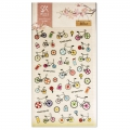 Assortiment de mini Stickers Kawaï 3D Bike