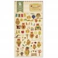 Assortiment de mini Stickers Kawaï 3D Automn