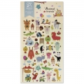 Assortiment de mini Stickers Kawaï 3D Animals friends