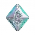Swarovski Anhänger 6926 Growing Crystal Rhombus 26mm Crystal Vitrail Light