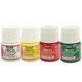 Undurschsichtige Acrylfarbe - Set Weihnachten Tradition 4 x 45 ml