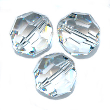Swarovski 5000 Facettierte Rundperle 8mm Crystal x1