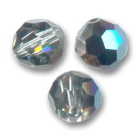 Swarovski 5000 Facettierte Rundperle 8mm Crystal Metallic Blue x1