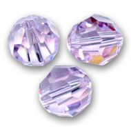 Swarovski 5000 Facettierte Rundperle 8mm Violet x1