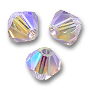 Swarovski Doppelkegel 4mm Light Amethyst AB2X x50