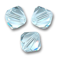 Swarovski Doppelkegel 6mm Light Azore x20