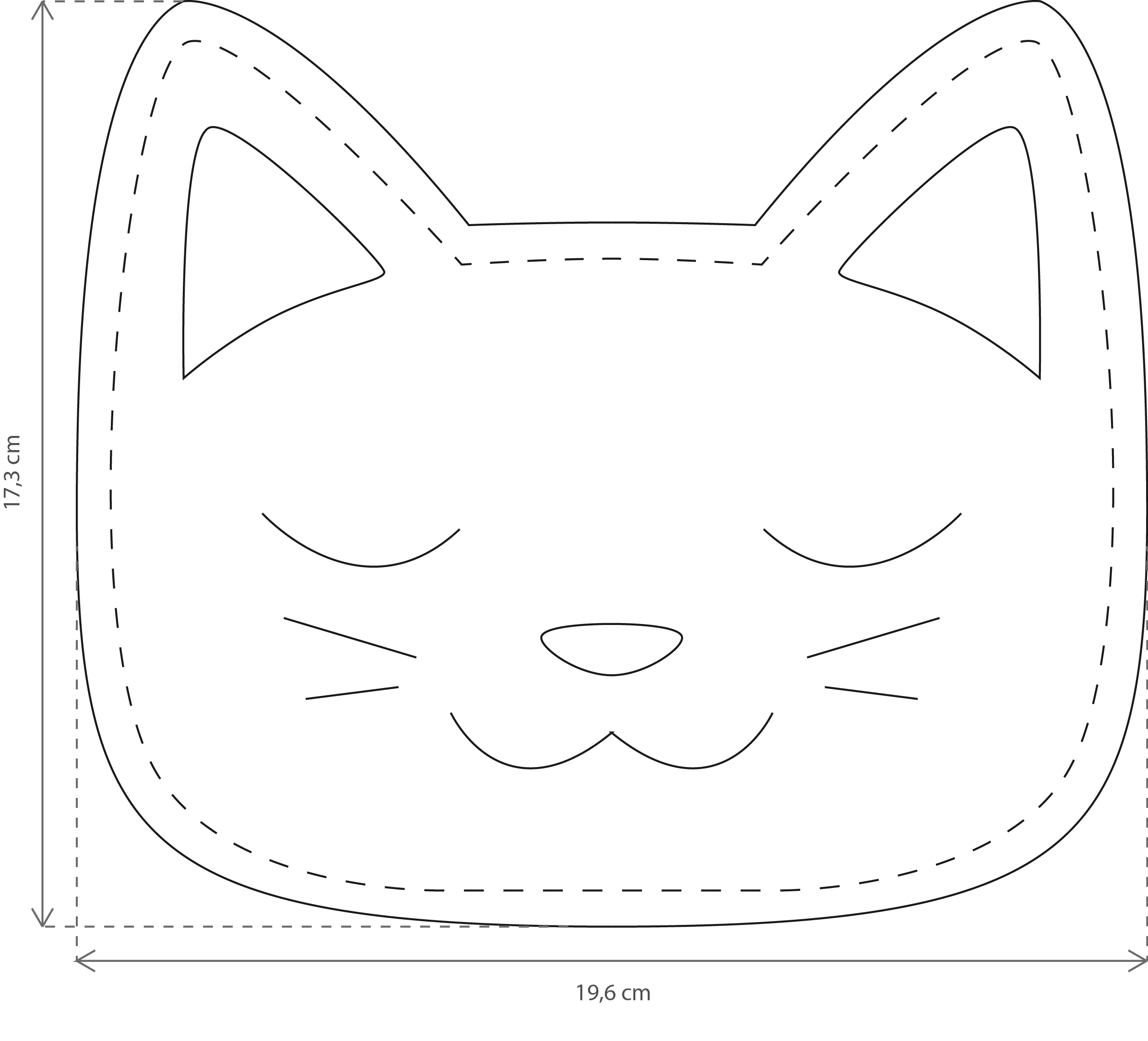 Schön Nähen Katze Muster Bilder - Nähmuster-Ideen - sarasara.info